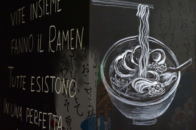 Dettaglio Del Locale Ramen Girl Firenze